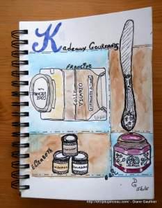 Composition - grille Sketchbook Skool