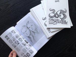 Livre 365 Chaque Jour un Dessin