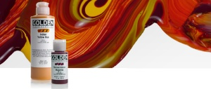 Golden Fluid paint
