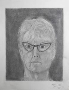 Autoportrait - jour 5