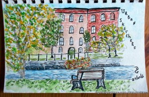 Urban Sketchers sept 2015