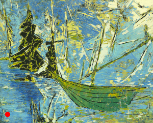 La Barque Verte -Jean-Marie Bergeron 2014