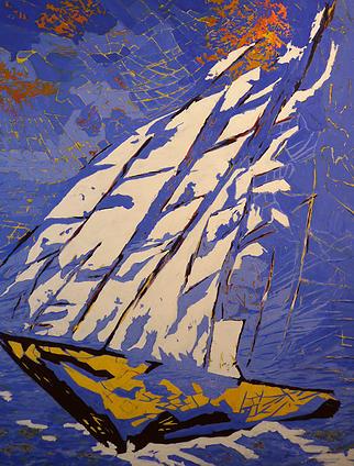 Sous les Cieux Grecs, Jean-Marie Bergeron 2015