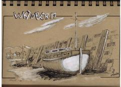 Jour 3. Inspiré du livre How to Paint Boats by Ralph S. Coventry