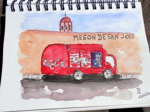 Meson de San José, sketch de Diane