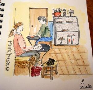 Café Zenteno.