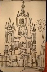 La Parroquia, sketch de Jacques.