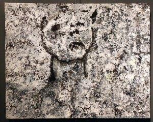 Tristesse, 16 x 20, Acrylique