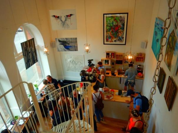 Café Lali et Galerie Carré des Artistes