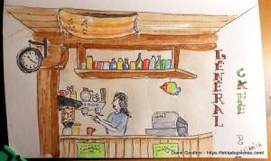 Général Café, le café et la bouffe y sont excellents !