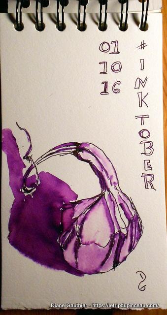 #InkTober - 01 oct 2016