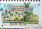 Une partie du Santa Clara, là où j'ai habité 6 semaines.