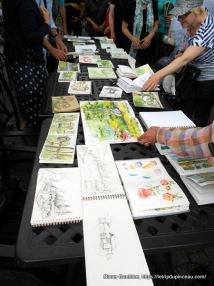 Urban Sketchers, Jardin Botanique