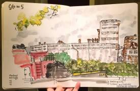 Koosje Koene, Vieux Montréal