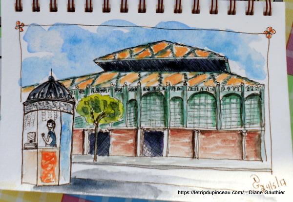 Mercado à Malaga