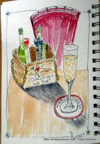 Mon dernier Cava au Gato Lounge