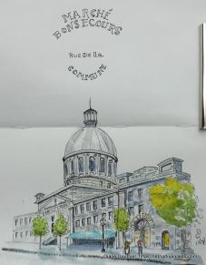 Marché Bonsecours, Vieux Montréal 12 juil '17