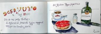 Un de mes déjeuners préféré Pitufo con tomate y aceite.