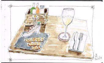 Mmm... Tartare de saumon fumé au Gato